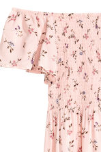 Long viscose dress - Pink/Patterned - Ladies | H&M CA 3